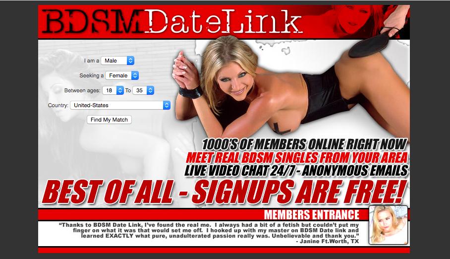 main page BDSMDateLink
