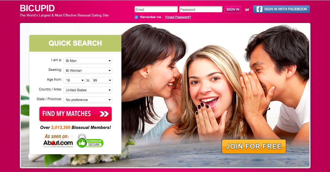 main page BiCupid