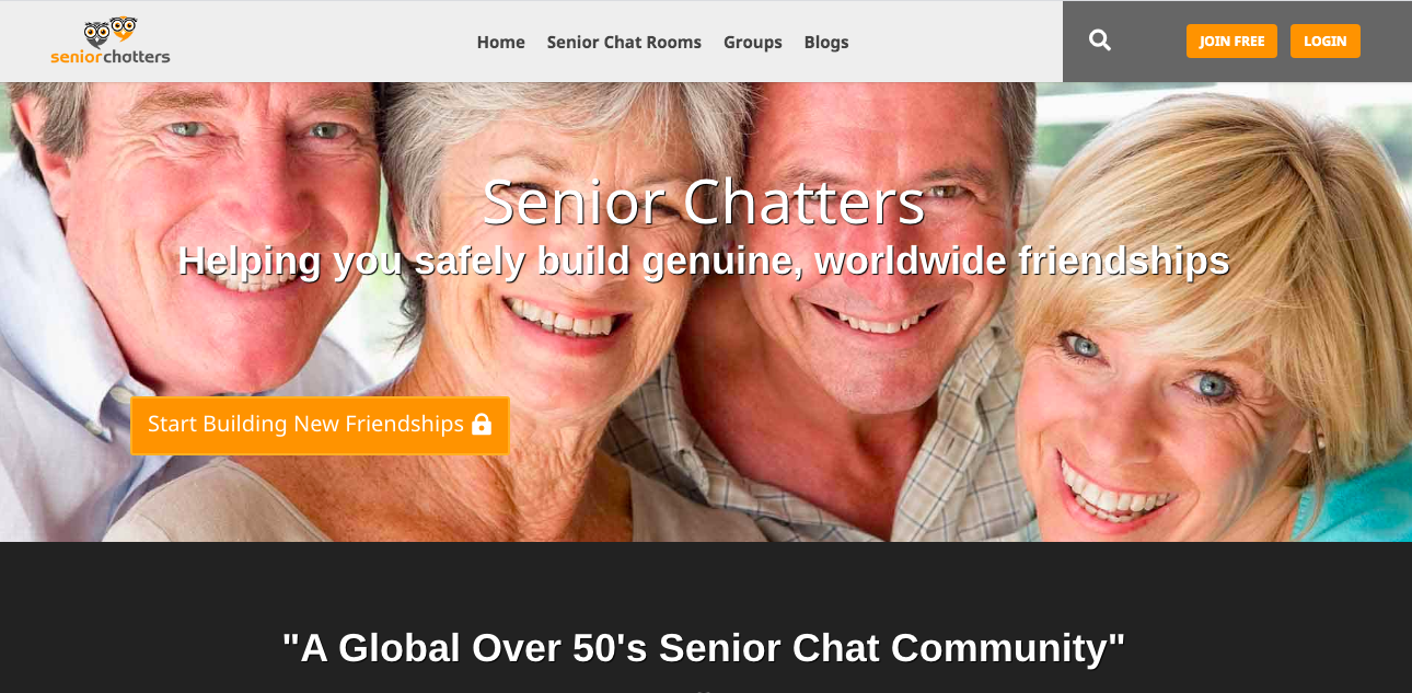 main page SeniorChatters