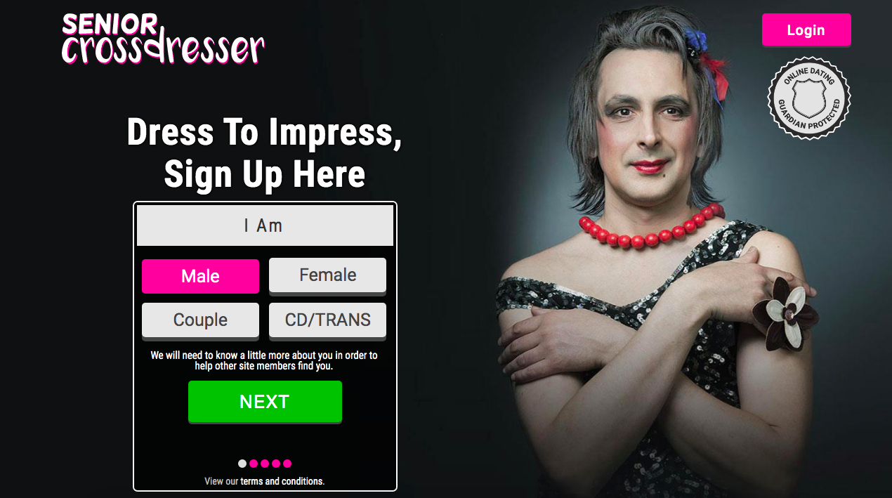 main page SeniorCrossdresser