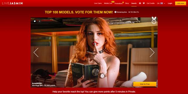 LiveJasmin top 100 models