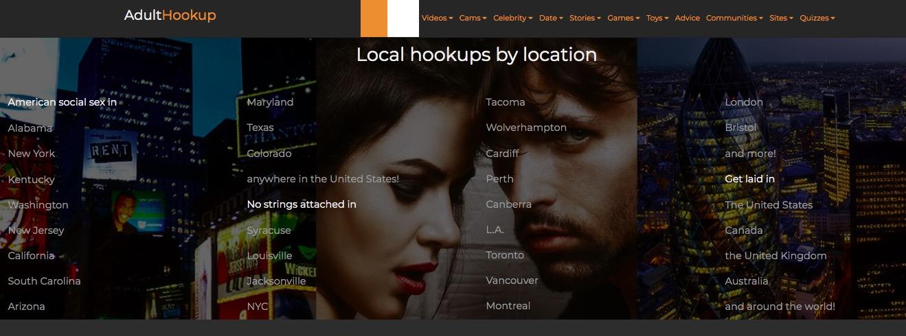Adulthookup location