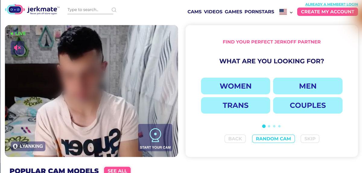 Jerkmate Gay create account